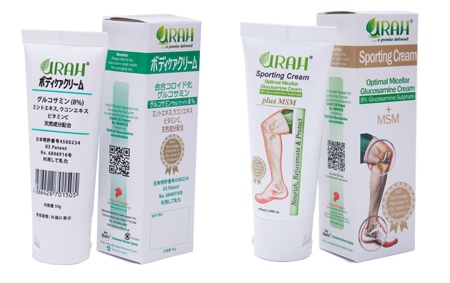 Post-Marketing Survey Report on Urah Glucosamine Cream in Japan