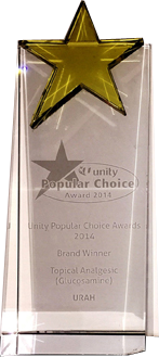 NTUC Unity Popular Choice Brand Award 2013
