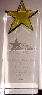 NTUC Unity Popular Choice Brand Award 2013
